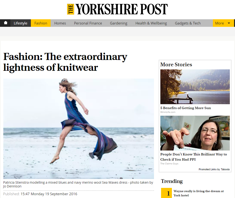 Fashion: The extraordinary lightness of knitwear