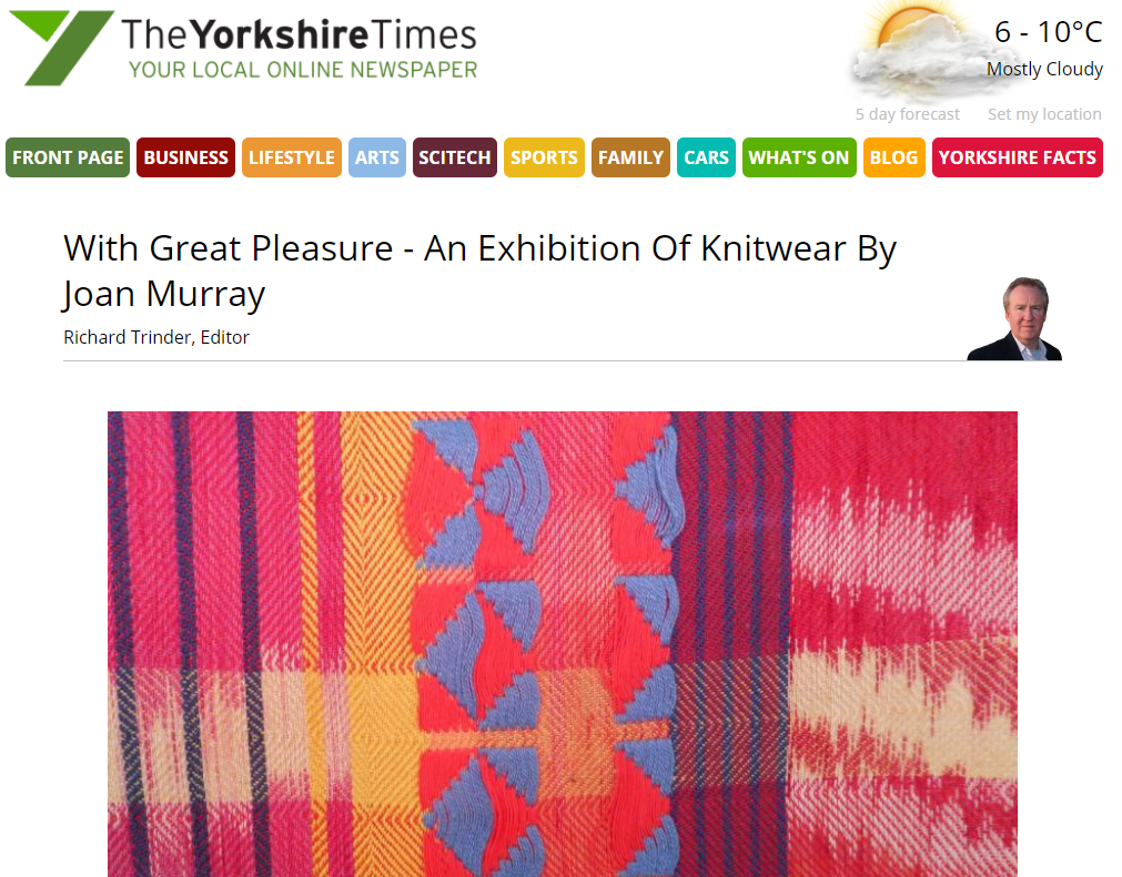 The Yorkshire Times feature Woodend Exhibition